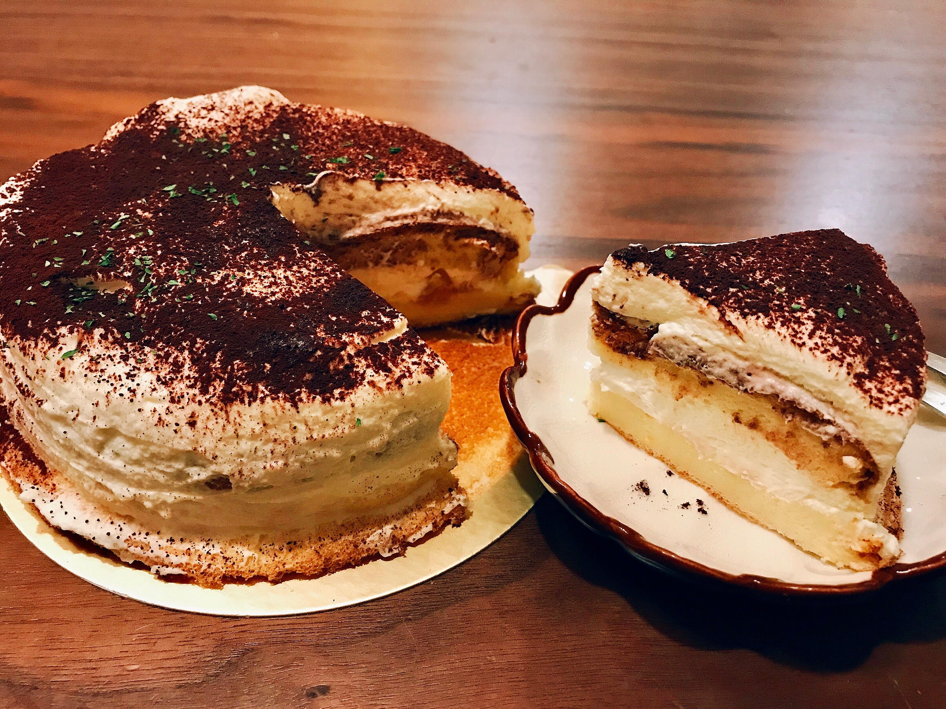 提拉米蘇蛋糕(無生蛋版)