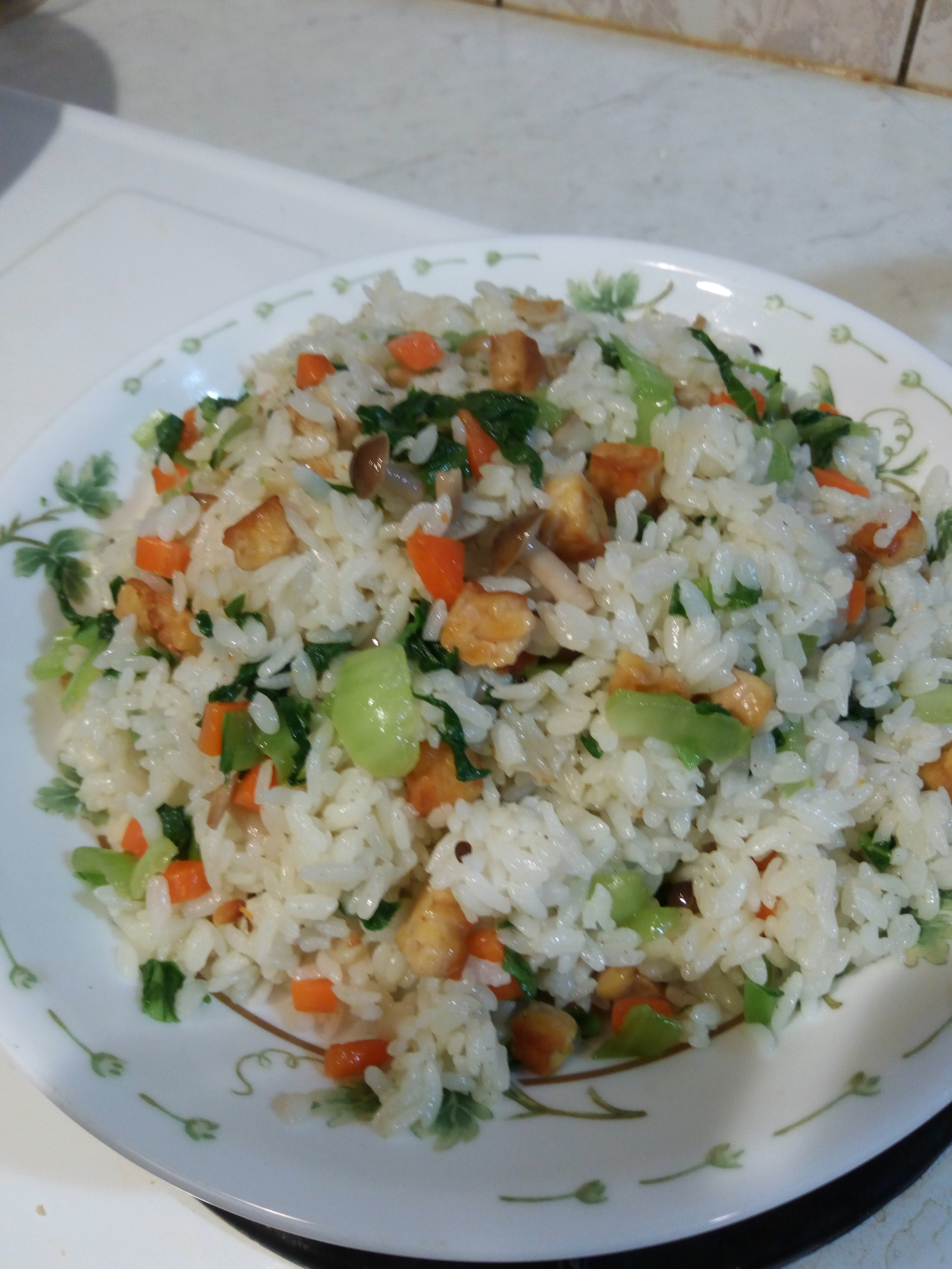 天貝清江菜飯
