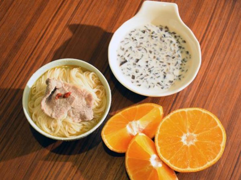 【慢性腎臟病】冬-麻油麵線套餐