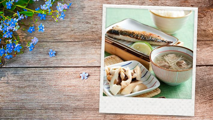【腹膜透析】香烤鯖魚飯套餐