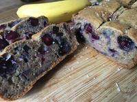 全麥藍莓香蕉蛋糕