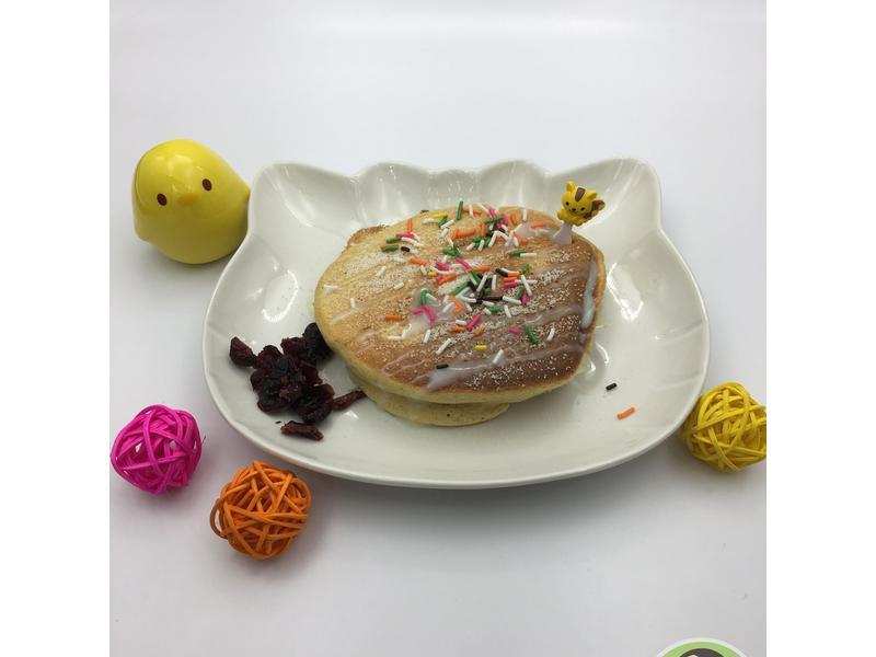 優格黑糖舒芙蕾厚鬆餅