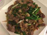 蒜炒豬肉片(黃俊推薦)
