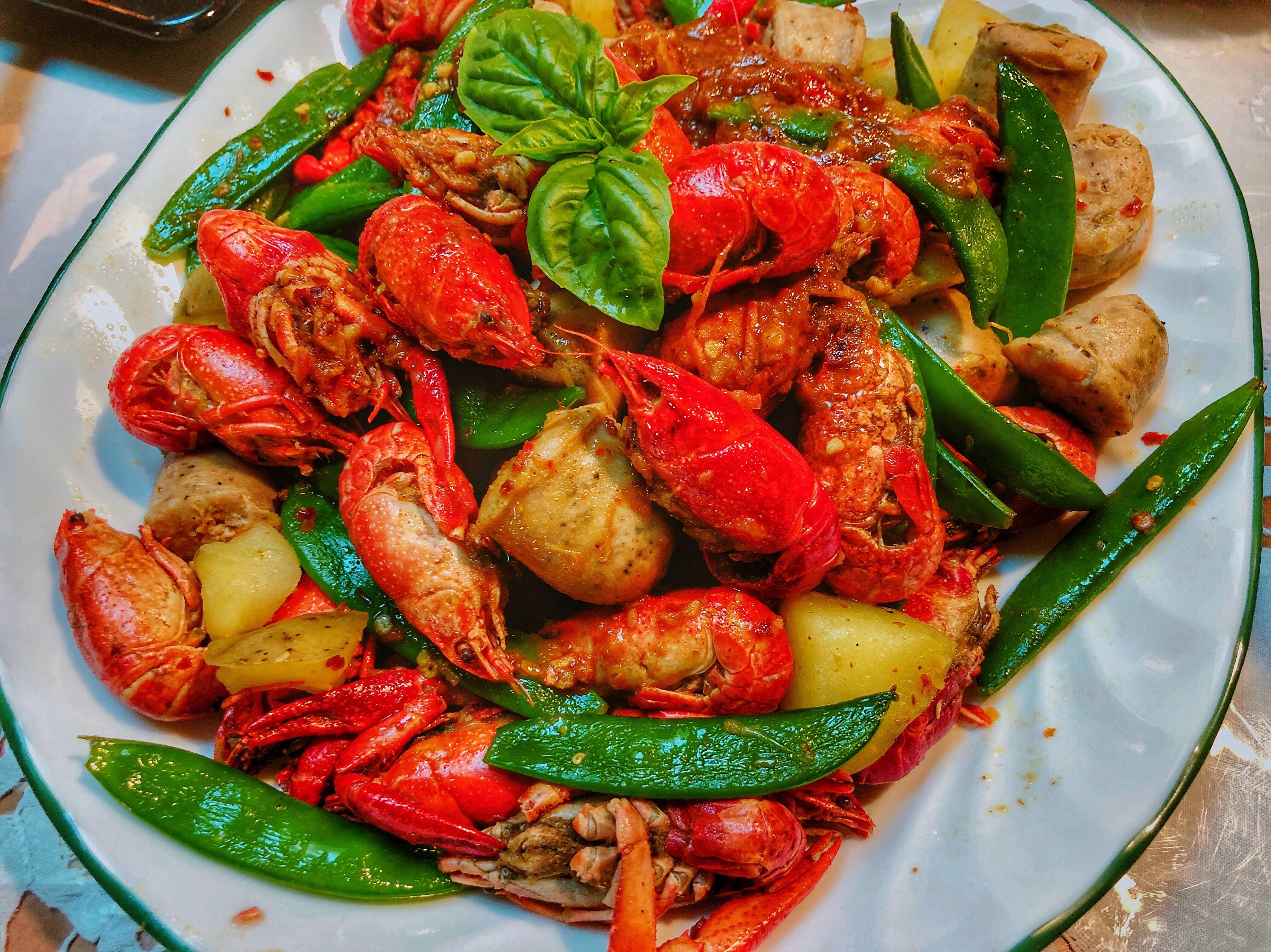 美國人的家常料理-手抓小龍蝦