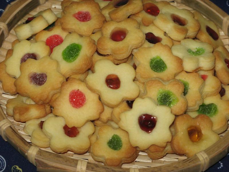 QQ軟糖餅乾