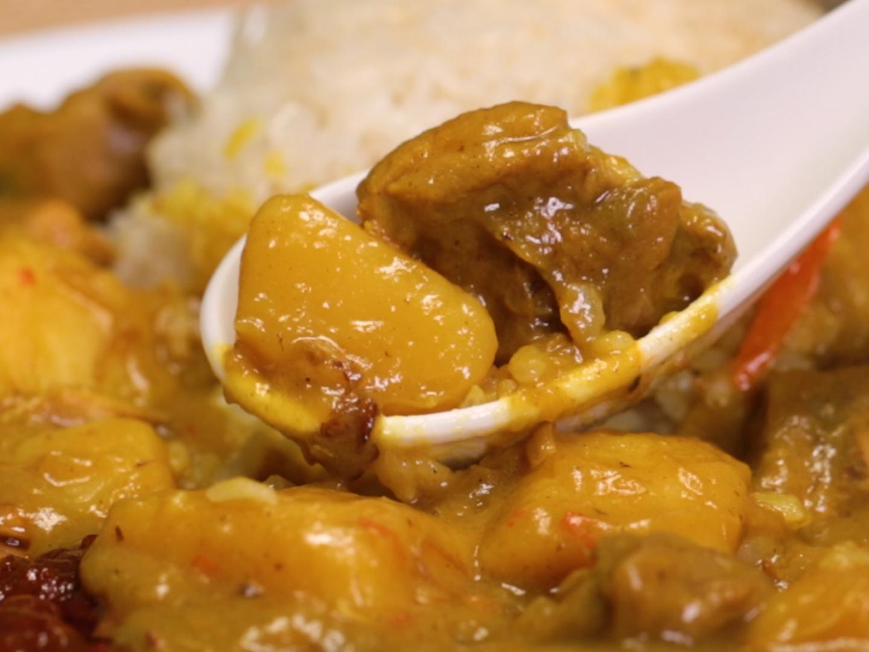 椰漿飯咖哩雞