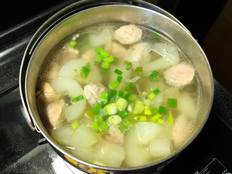 大黃瓜丸子湯