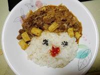 造型玉米筍沙茶羊肉燴飯