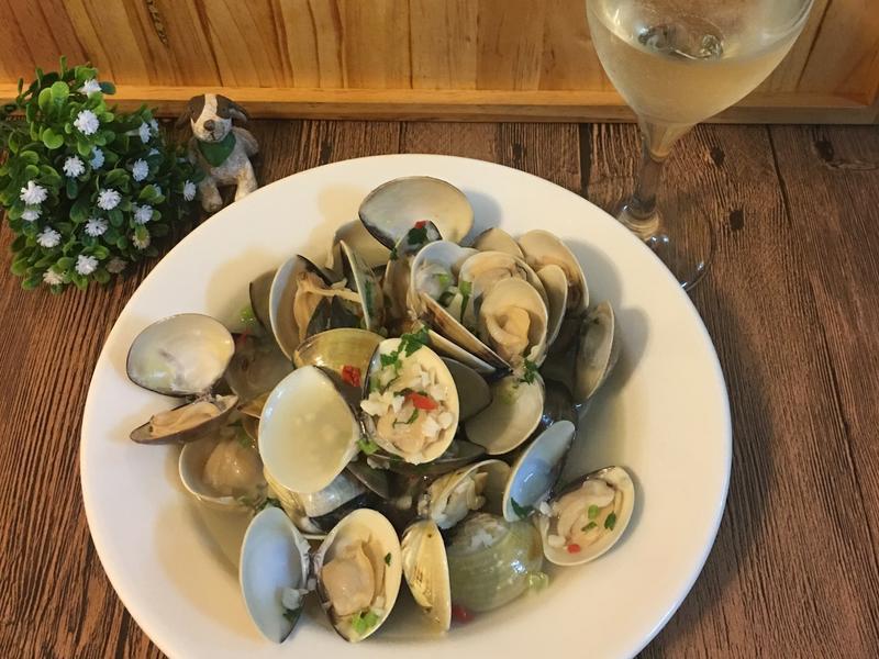 奶油白酒蛤蠣~輕鬆上菜