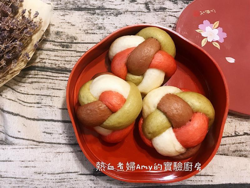 👩🍳四彩繡球饅頭