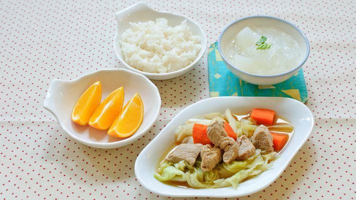 【慢性腎臟病】秋-高麗菜燉肉套餐