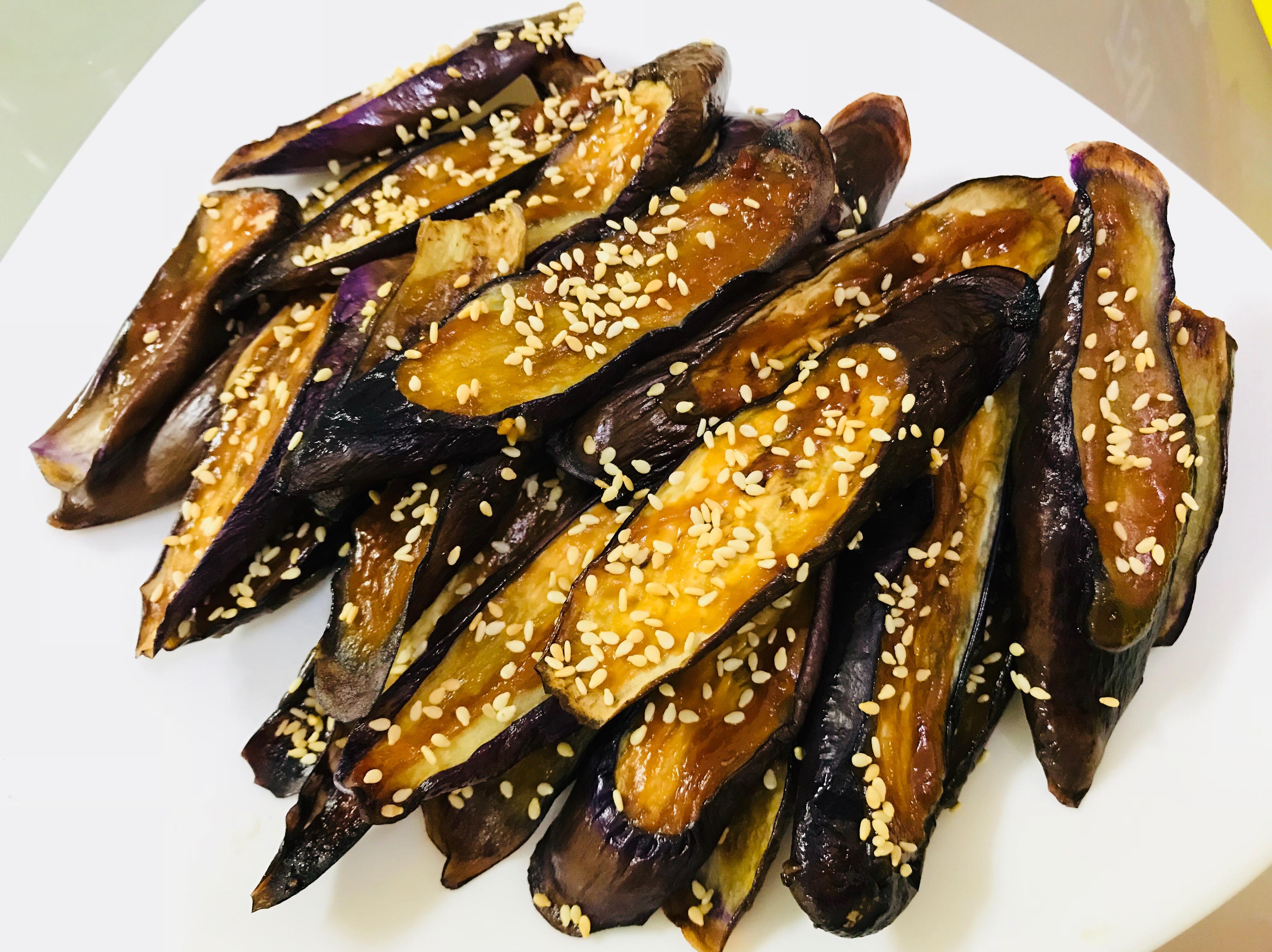 懶人料理之鹹甜好滋味:日式味增烤茄子