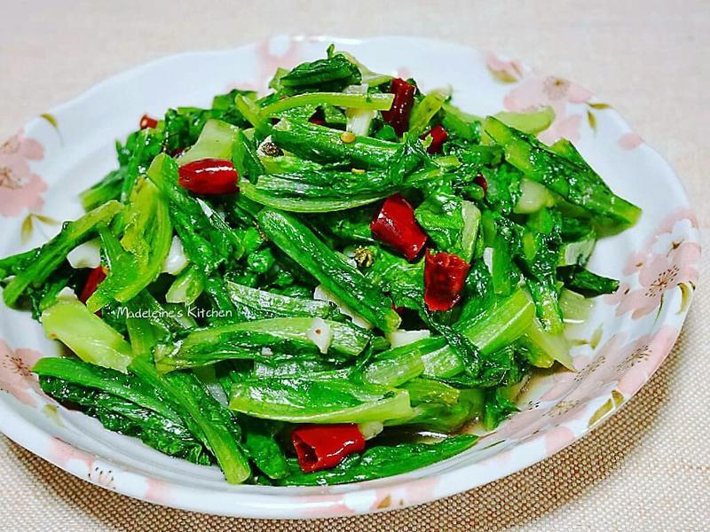 熗炒油麥菜