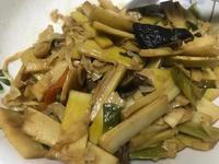 香菇炒筍絲