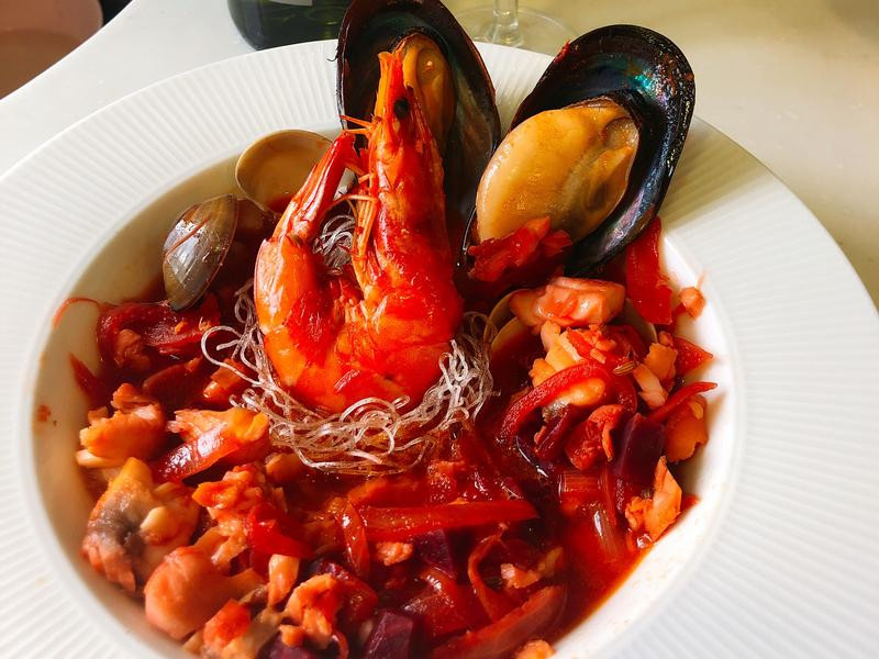 瑞秋的巴黎廚房:海鮮鳥巢冬粉