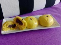 南瓜豆沙包(寶寶手指食物)