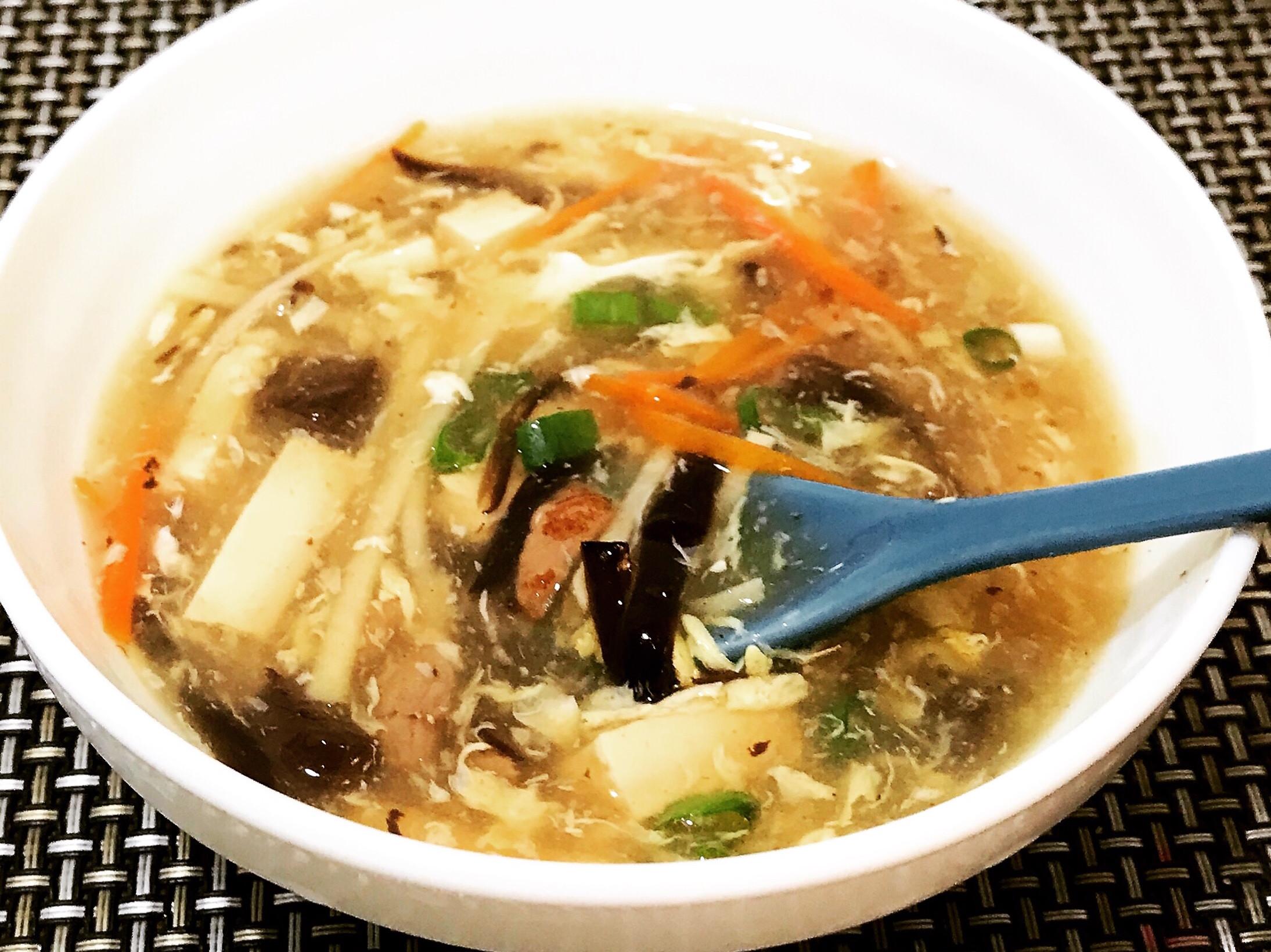 台式酸辣湯
