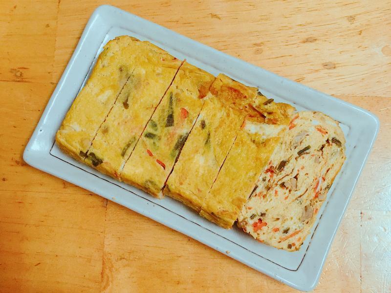 《食之契約》櫻菜-什錦厚蛋燒(玉子燒)