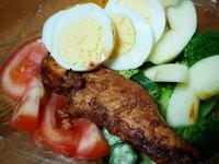 香煎雞里肌蔬果沙拉