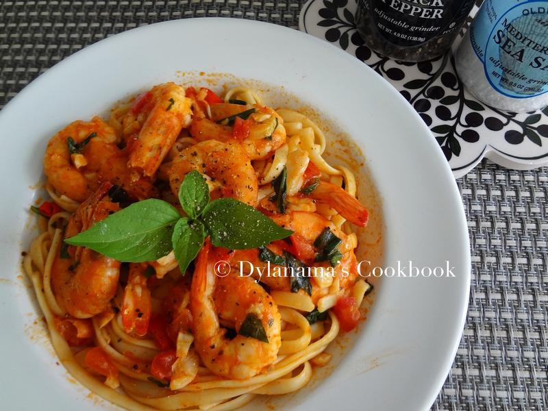 Dylanama ♥ 鮮蝦番茄義大利麵