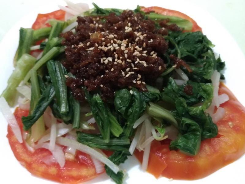 涼拌番茄蔬菜