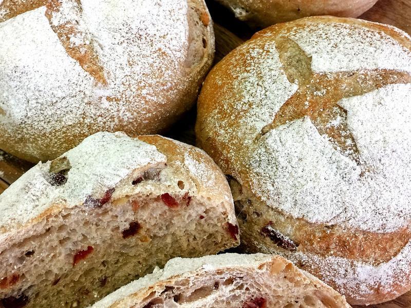 紅酒蔓越莓麵包【歐式麵包-烘焙匠心手札】