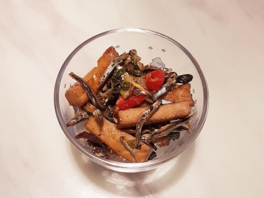 《小菜》酥香豆小魚