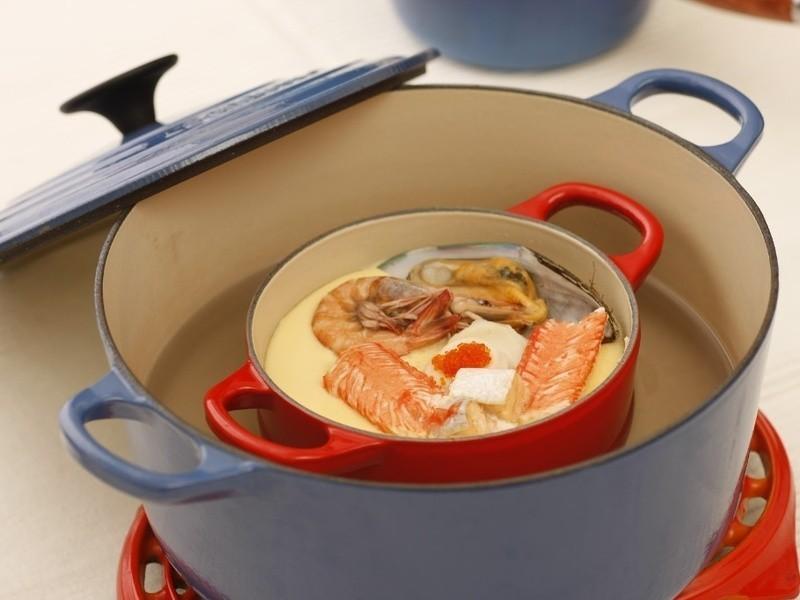 海鮮煲仔蛋Seafood Pot Pudding