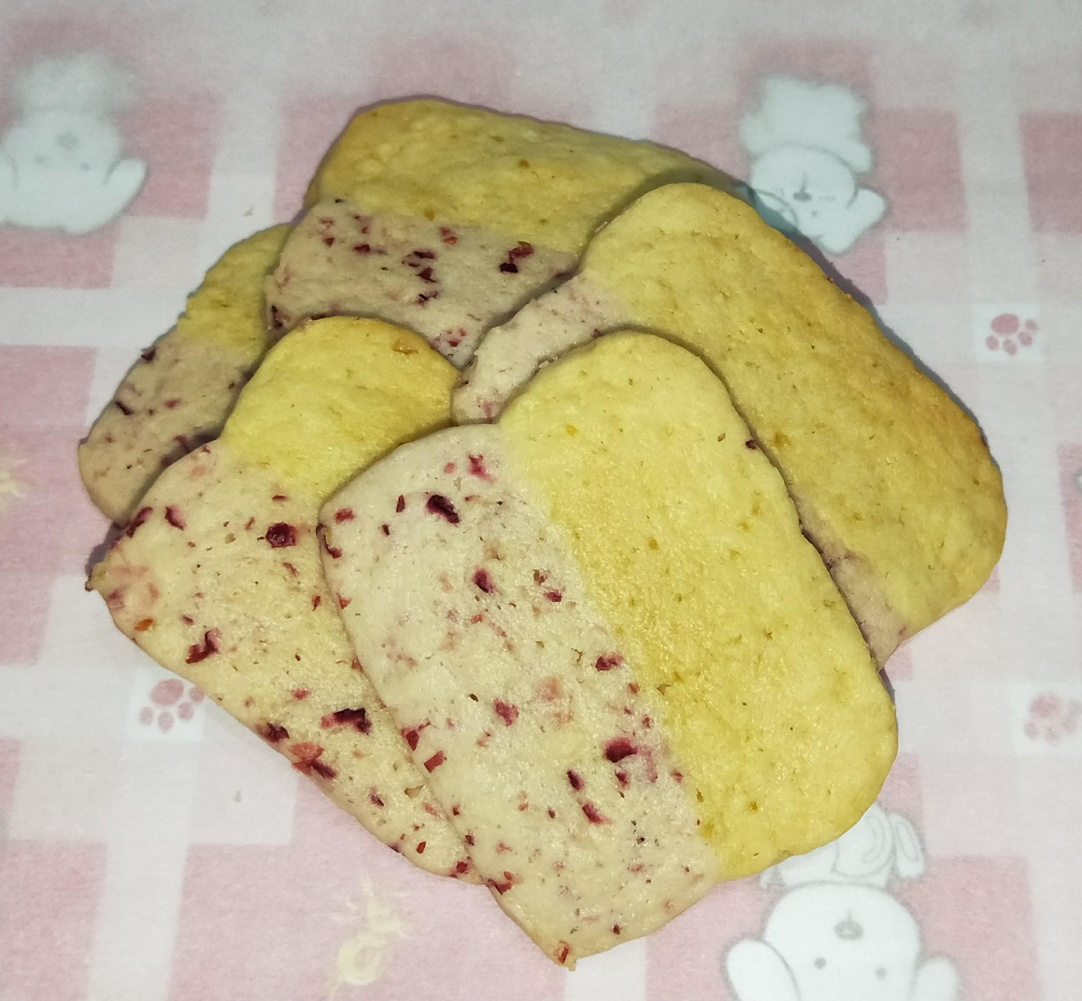 蔓越莓青葡萄餅乾
