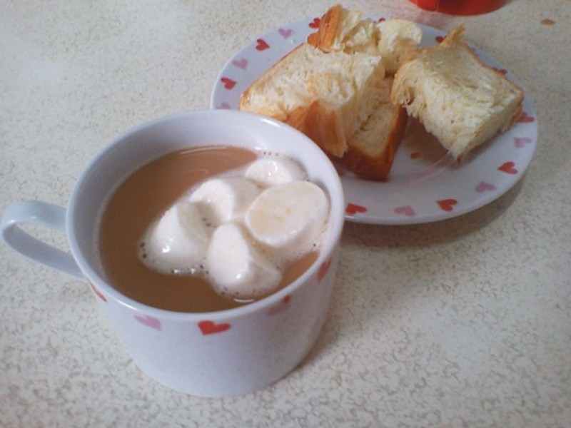 [趁熱品嚐]鴛鴦雲朵奶茶