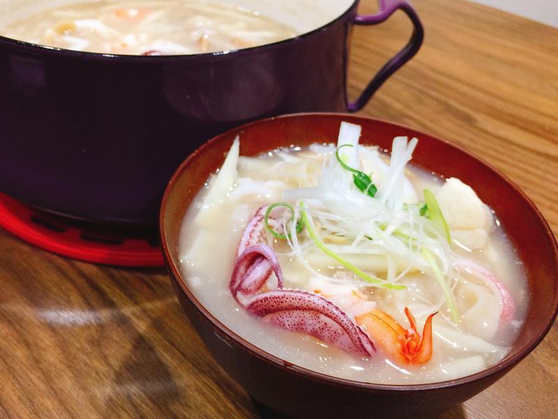 竹筍海鮮粥