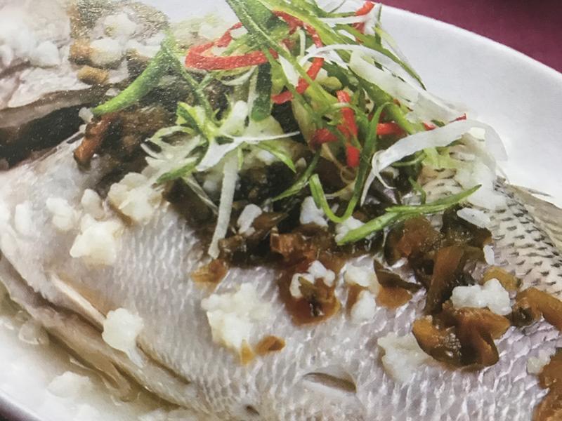 酒釀蒸鮮魚🐟