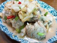 澎湖酸高麗菜石硓魚