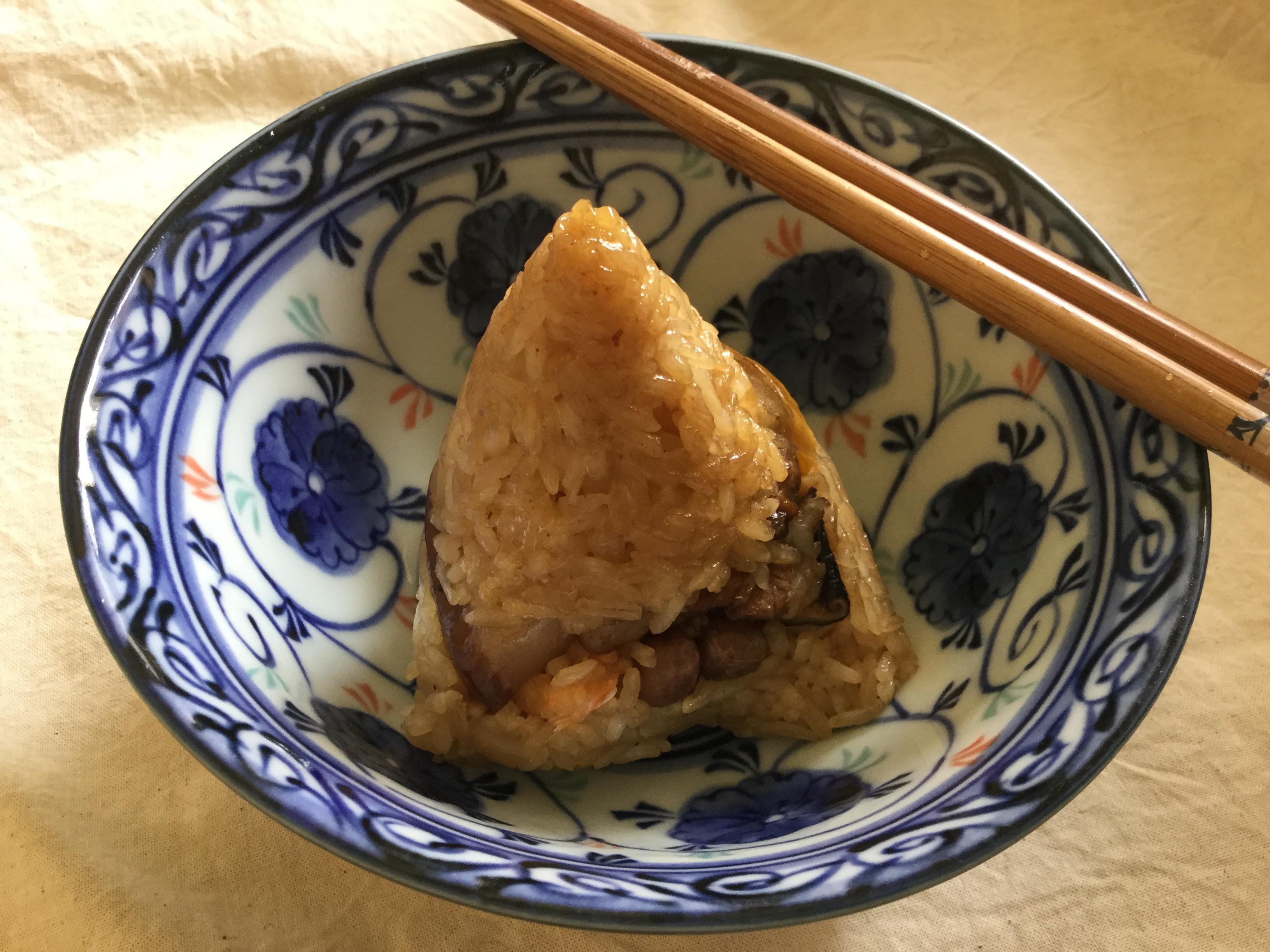 中部粽~含包粽子方法