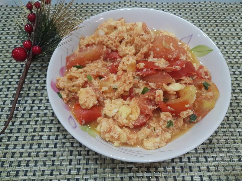 滑嫩番茄炒蛋 簡單易學 低卡美食