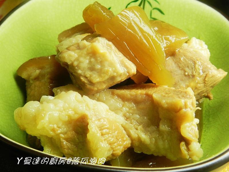 ㄚ曼達的廚房~蔭瓜滷肉