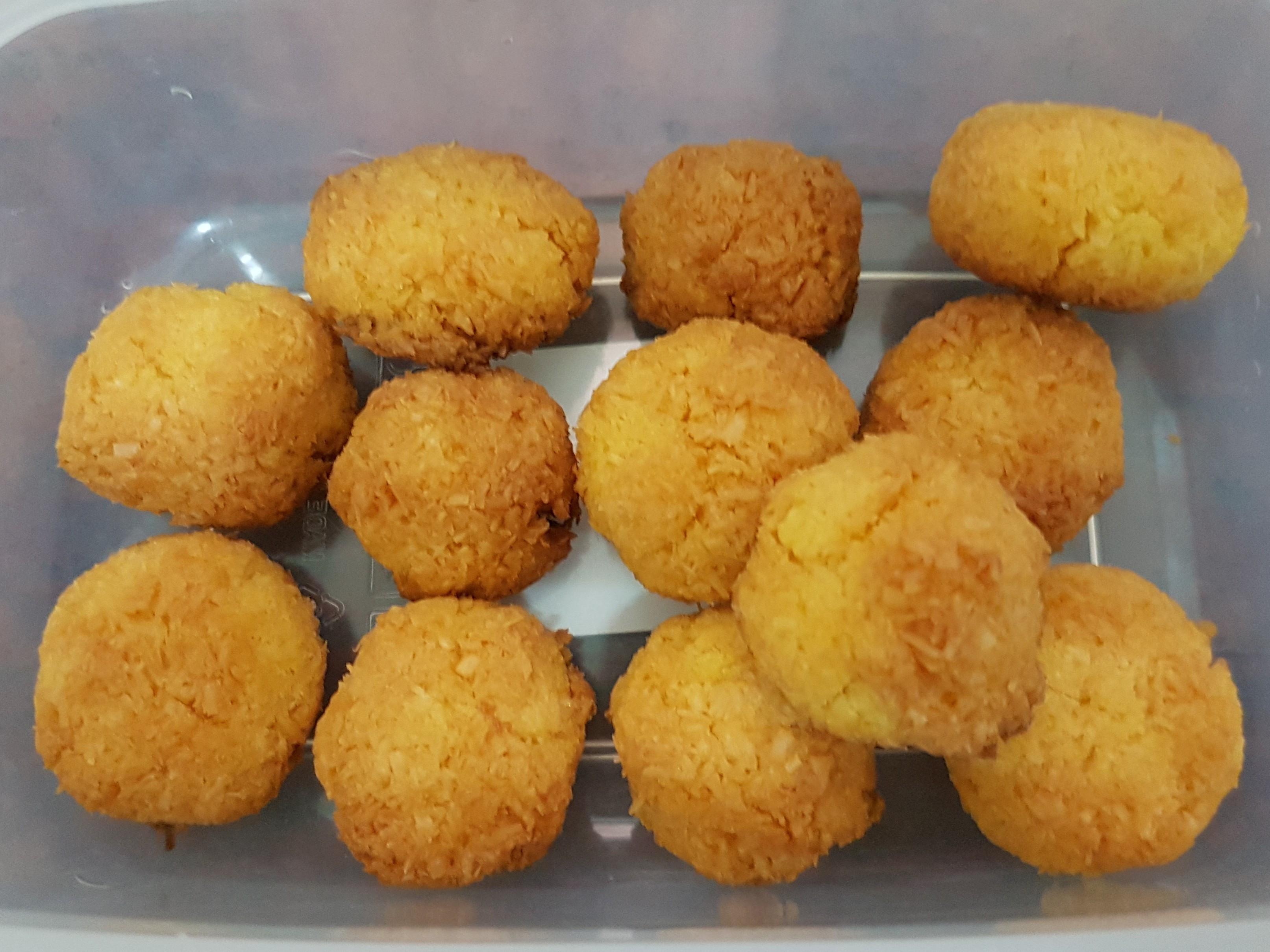 生酮版椰子球