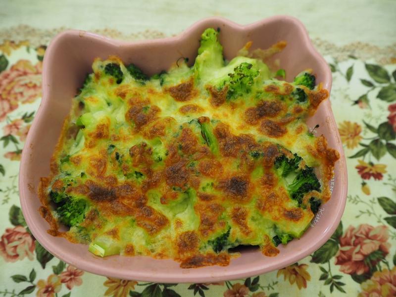 超簡單- 焗烤培根蔬菜 (生酮可食)