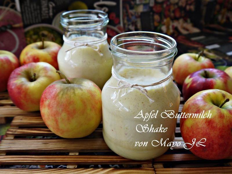 蘋果白脫牛奶雪克