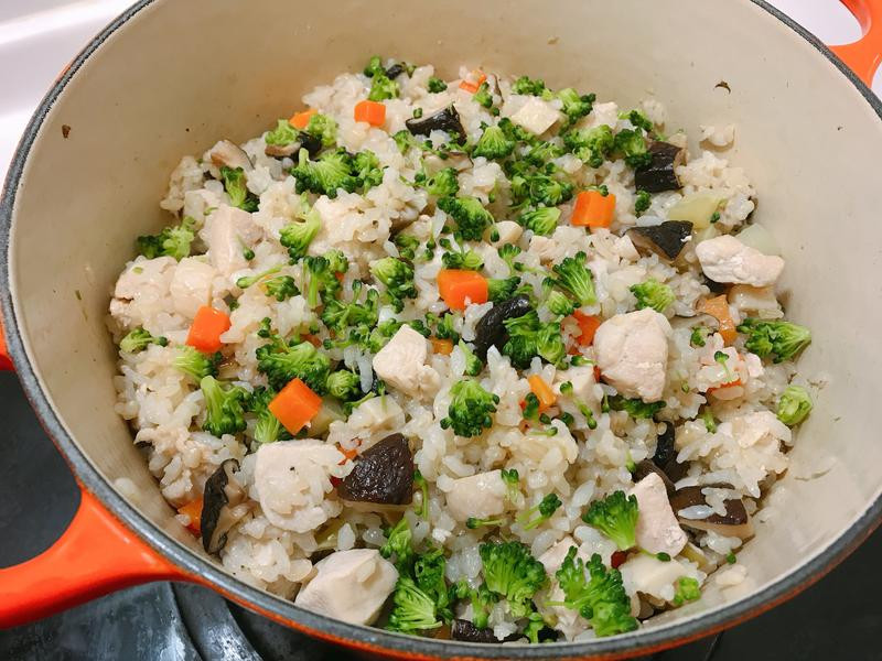 健康減脂餐🍄香菇雞炊飯