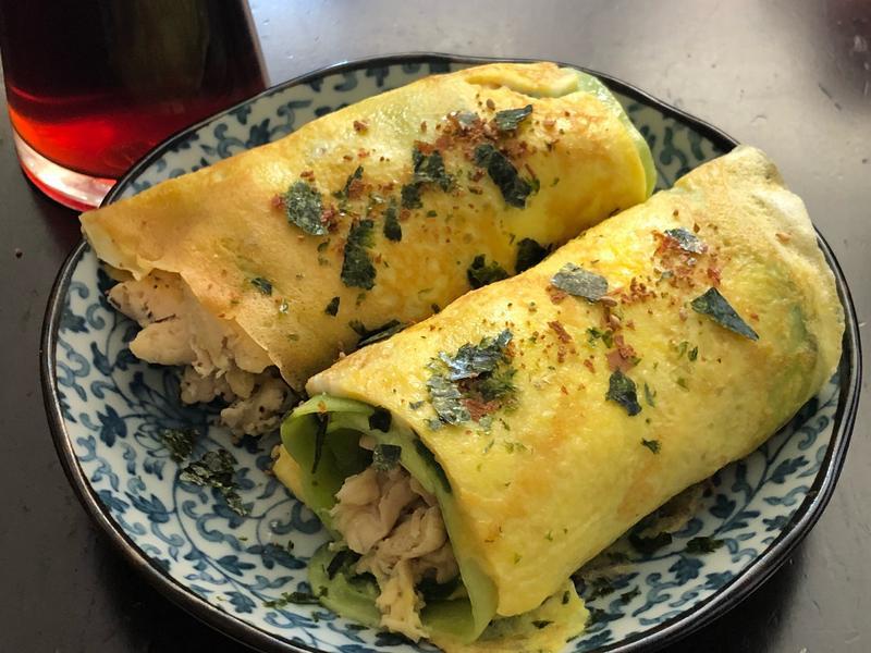 低卡青瓜雞柳蛋捲 (無澱粉)