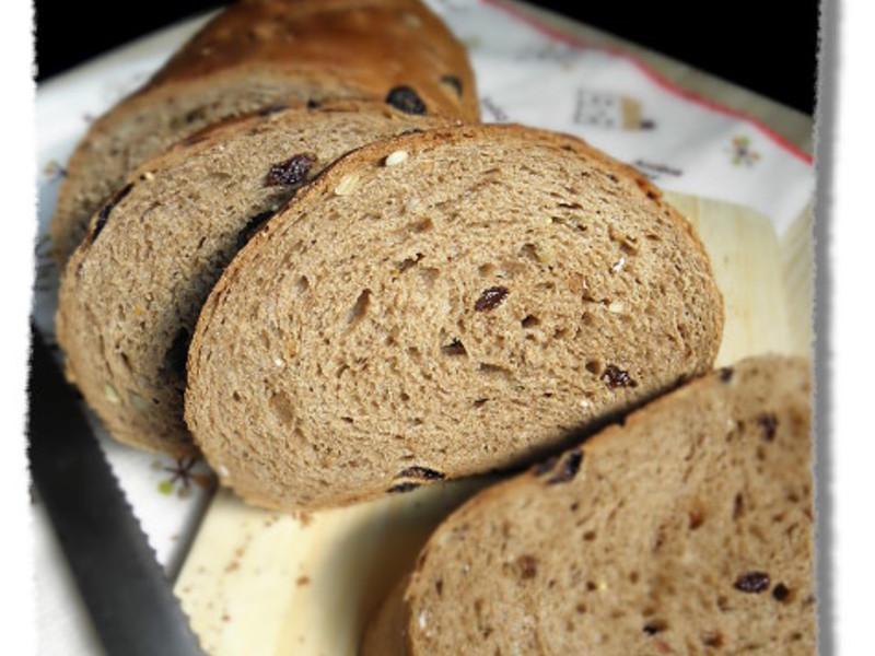 雜糧裸麥米麵包