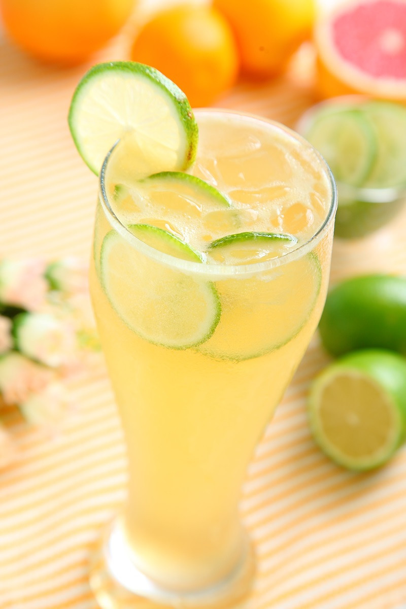 蜂蜜檸檬愛玉凍飮