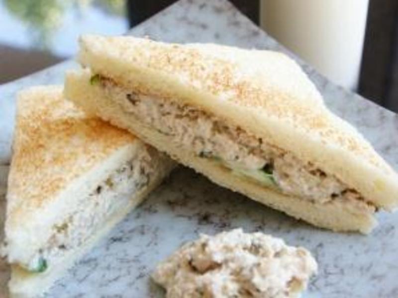 我的料理個人秀 ~~ 法式鮪魚三明治