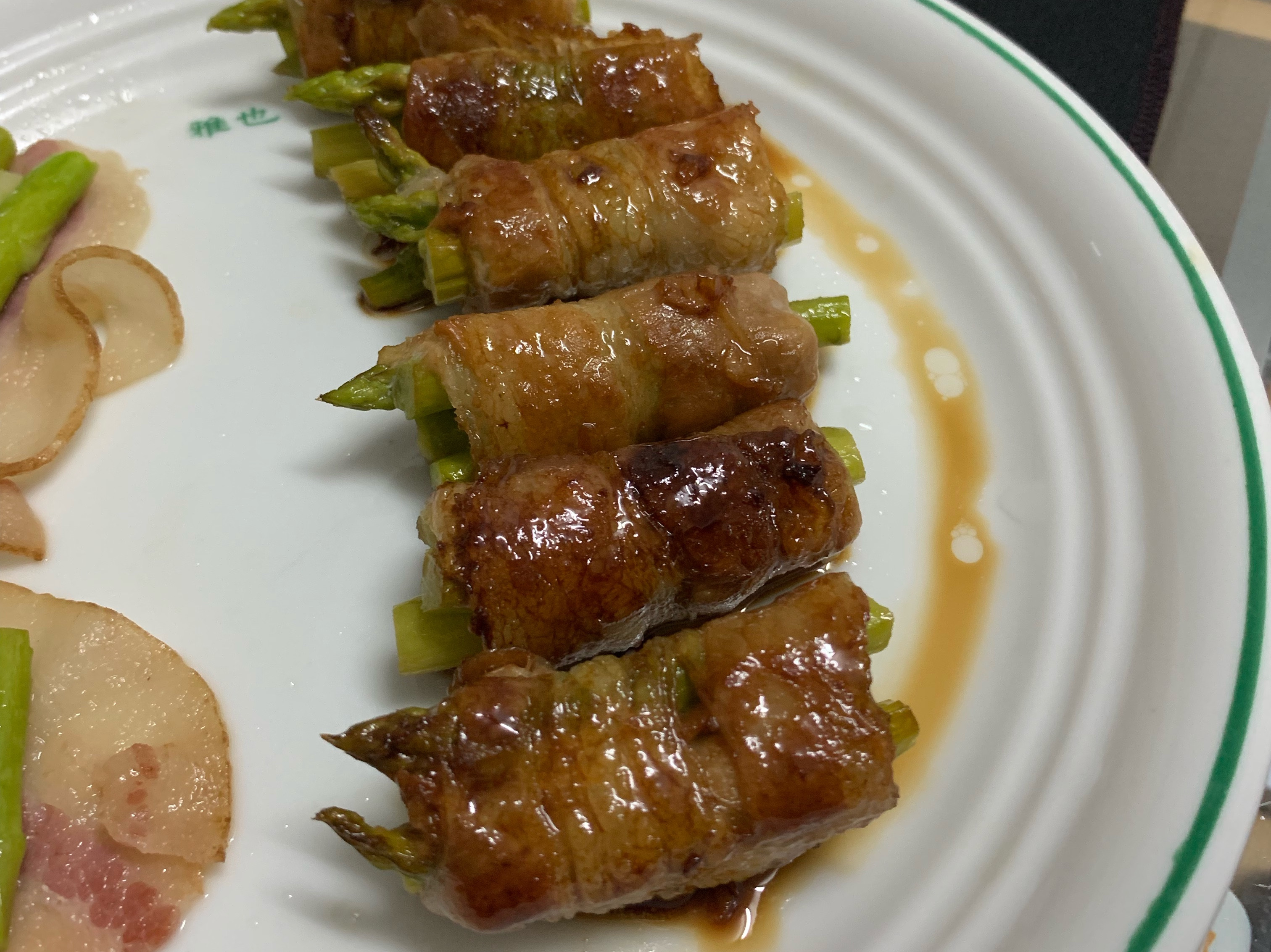 照燒蘆筍肉捲