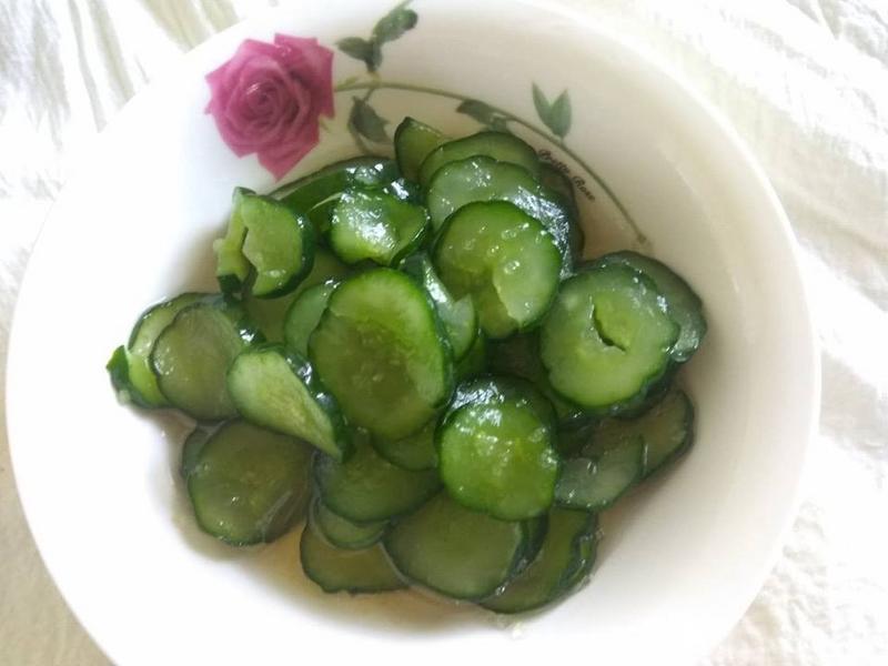 夏日小菜同樂會-梅香漬小黃瓜
