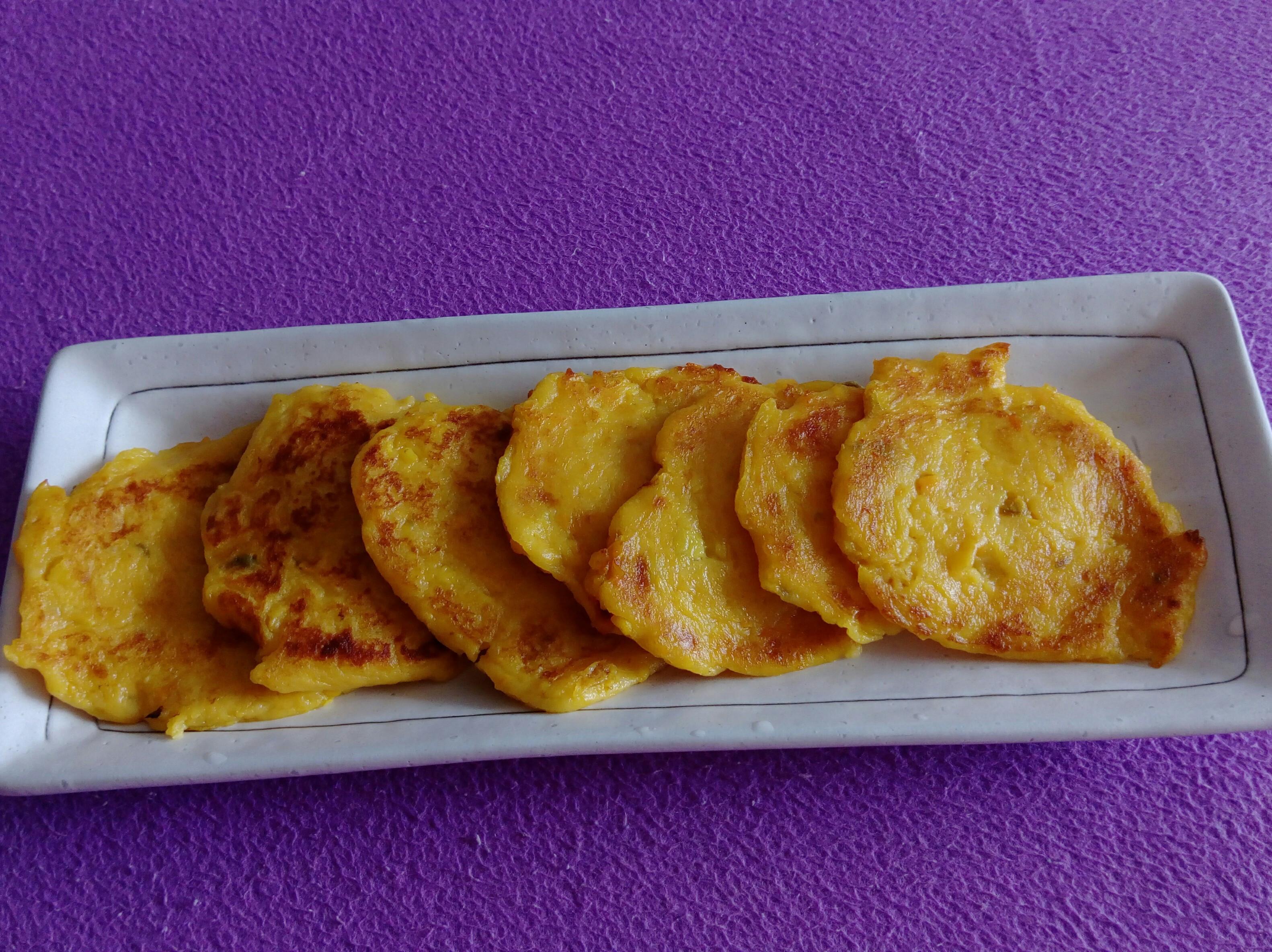 鮮奶地瓜Q餅(寶寶手指食物)