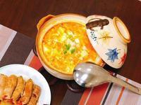 仿蟹黃豆腐煲