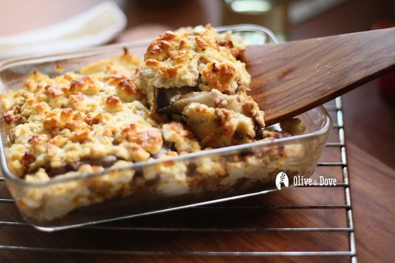 驚奇的滋味~費達起士茄子豆腐焗烤
