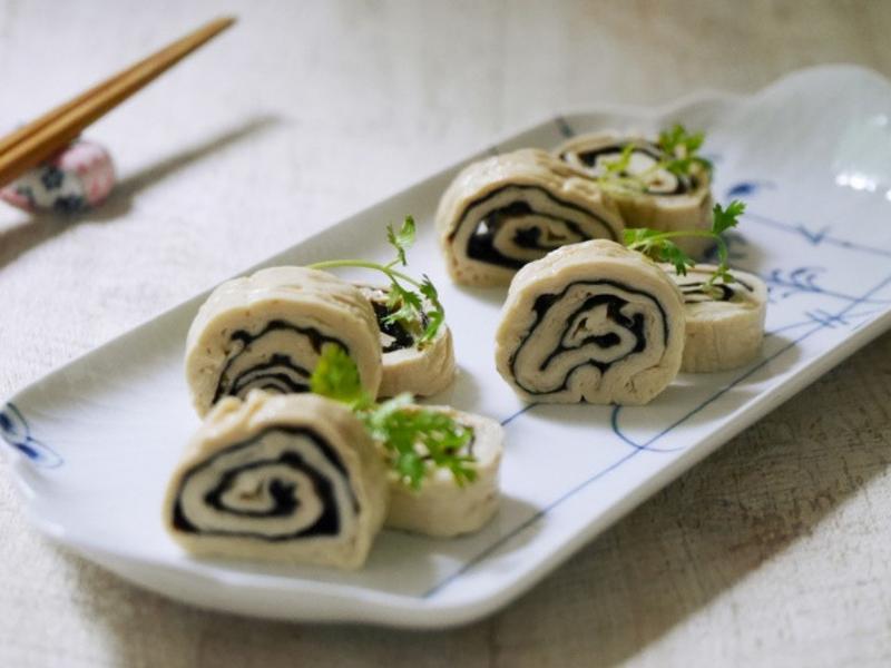 豆皮海苔捲❤電鍋小廚娘